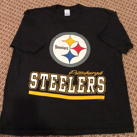 507199dd Vintage Men's Pittsburgh Steelers T-shirt